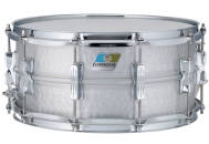 Ludwig Drums - Acrolite 6.5x14 Snare - Hammered Aluminum