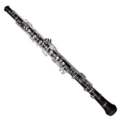 N02 Composite Wood Oboe, Silver Plated Keywork