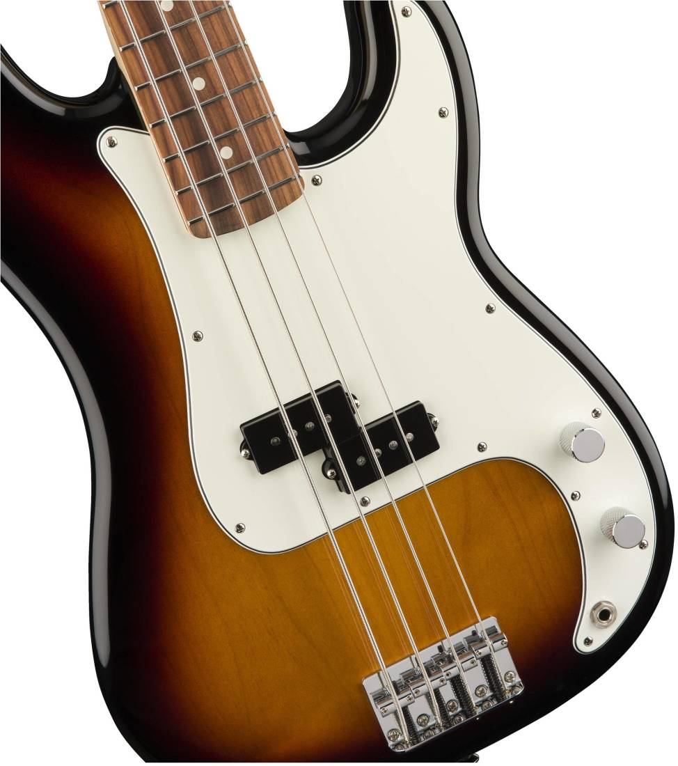 fender standard p bass pau ferro fingerboard brown sunburst long mcquade musical instruments. Black Bedroom Furniture Sets. Home Design Ideas