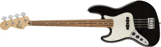 Standard Jazz Bass Left Handed, Pao Ferro Fingerboard - Black