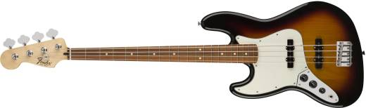 Standard Jazz Bass Left Handed, Pau Ferro Fingerboard - Brown Sunburst