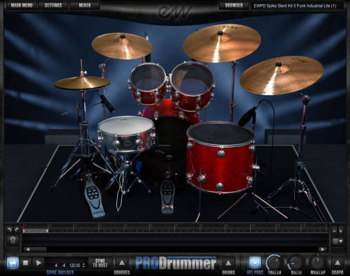 Prodrummer 1 - Mark ''Spike'' Stent - Download