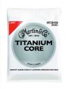 Martin Guitars - MTCN160 Titanium Core Acoustic Strings - Light