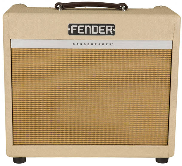 Fender Musical Instruments - Limited Edition Bassbreaker 15 15 W Tube Combo  Amplifier - Blonde