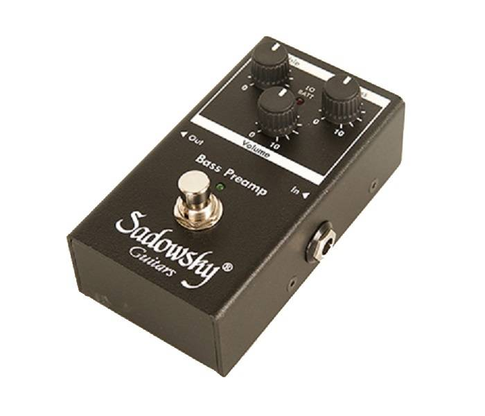 sadowsky guitars sbp 2 bass preamp pedal long mcquade musical instruments. Black Bedroom Furniture Sets. Home Design Ideas