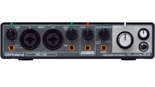 Rubix24 - 24/192 2-In/4-Out USB Audio Interface