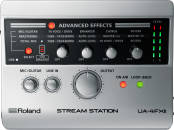 Roland - UA-4FX2 - 24/96 2-In/2-Out Stream Station Audio Interface