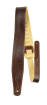 Perris Leathers Ltd - 2.5 Top Grain Italian Leather Guitar Strap - Dark Brown