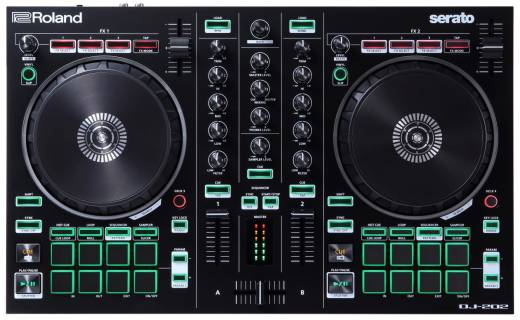 DJ-202 2-Channel Serato Intro DJ Controller
