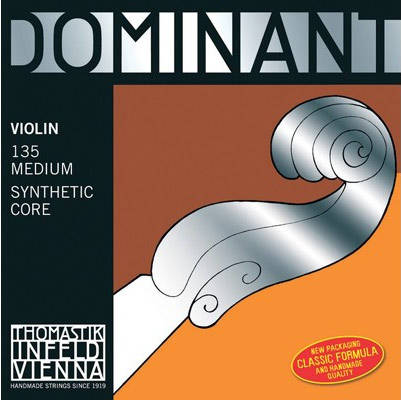 Dominant Violin String Set 4/4 - Steel 'E'