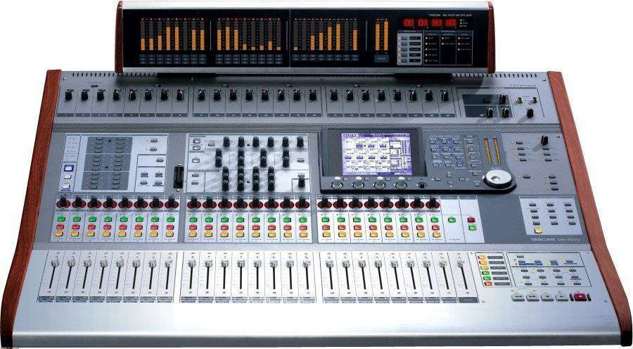 tascam dm 4800 digital mixer long mcquade musical instruments. Black Bedroom Furniture Sets. Home Design Ideas