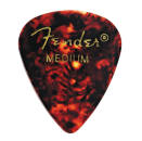 Fender - 351 Shape Celluloid Picks 12-Pack - Tortoiseshell - Medium