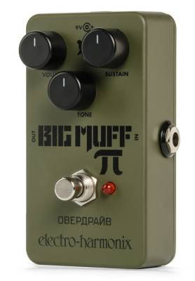 Green Russian Big Muff Distortion/Sustainer