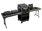 Odyssey - Deluxe Combo Rack and Side Tables w/12U Top & 14U Bottom