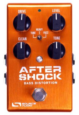 One Series Aftershock Bass Distortion Pedal