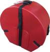 Humes & Berg - Enduro 6.5 x 14 Snare Drum Case with Foam - Red