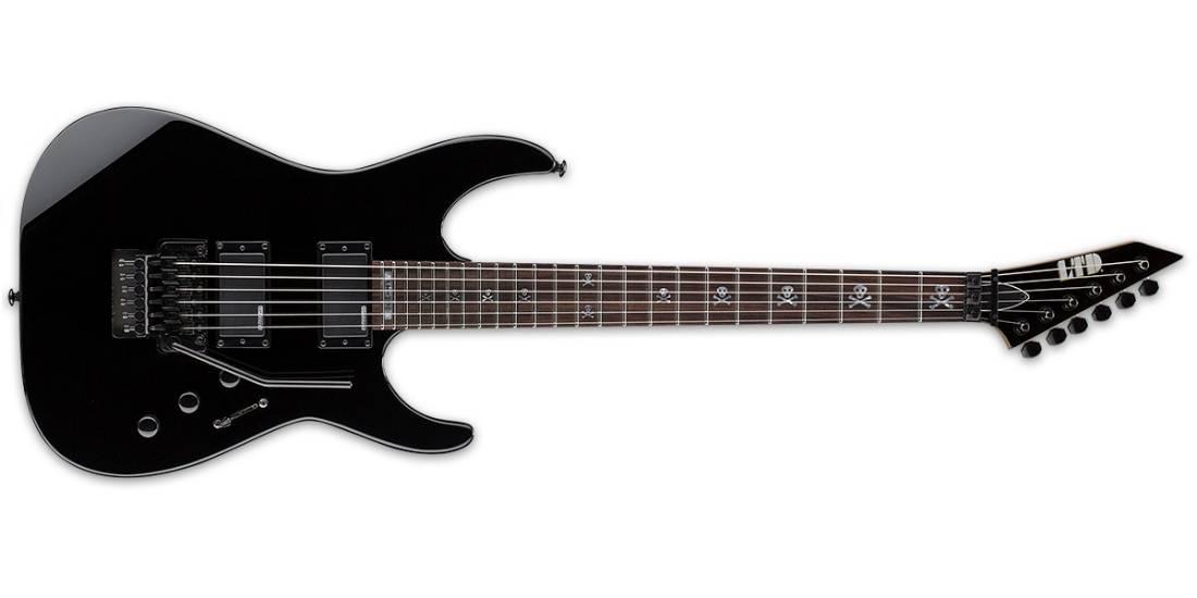 esp guitars ltd kh 202 kirk hammett signature series guitar black long mcquade musical. Black Bedroom Furniture Sets. Home Design Ideas