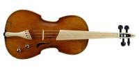 Spur Violins - Semi-Acoustic Violin w/ Flame Maple Back/Ribs