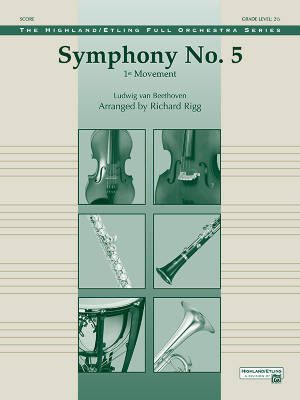 Symphony No. 5  (1st Movement) - Beethoven/Rigg - Full Orchestra - Gr. 2.5