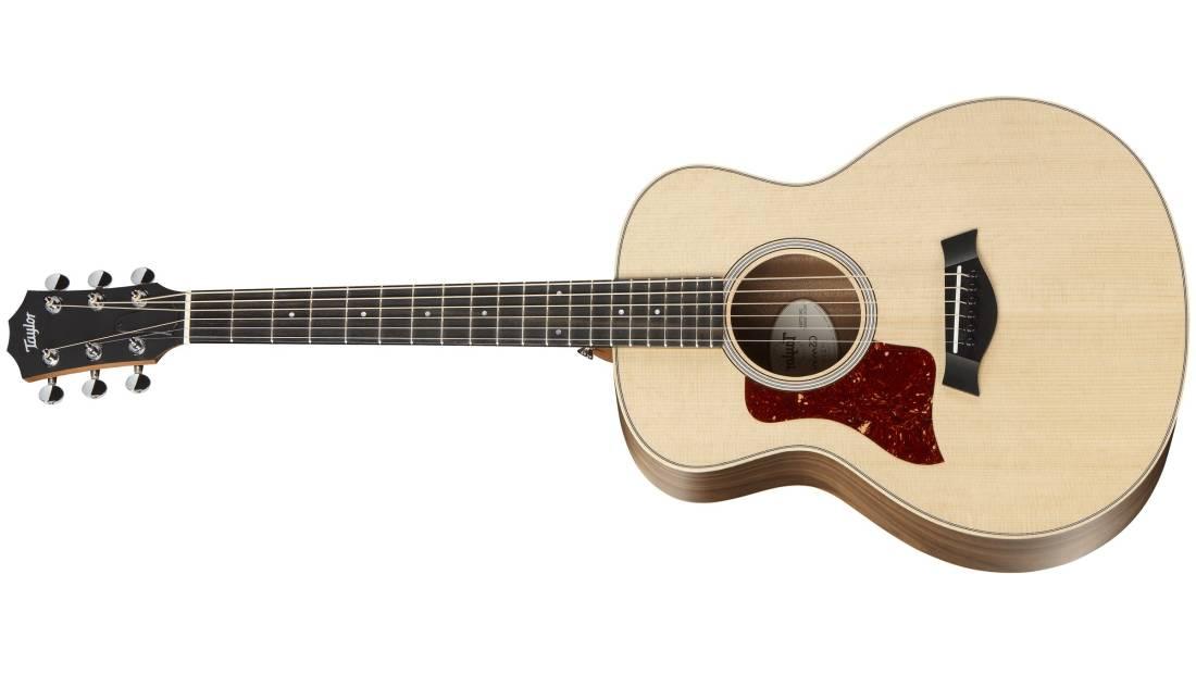 taylor guitars gs mini e walnut acoustic electric guitar left handed w bag long mcquade. Black Bedroom Furniture Sets. Home Design Ideas