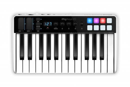 iRig Keys I/O 25 Key Controller with Audio I/O