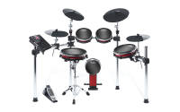 Alesis - Crimson II Kit Nine-Piece Electronic Drum Kit with Mesh Heads
