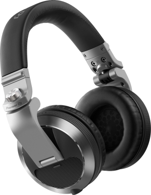 Pioneer DJ HDJ-X7 Professional Over-ear DJ Headphones -  Silver