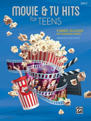 Movie & TV Hits for Teens, Book 2 - Coates - Piano - Book