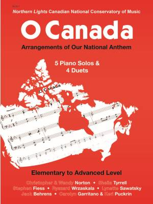 O Canada - Various - Piano - Book