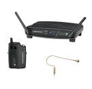 Audio-Technica - ATW-1101 System 10 Digital Wireless System w/ Transmitter and Headworn Mic