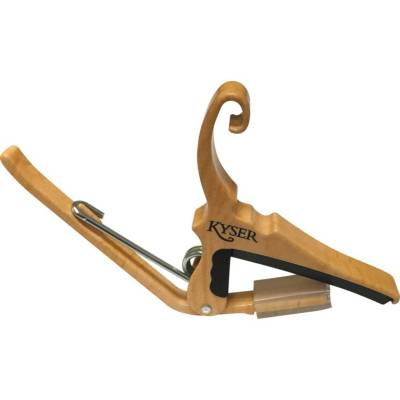 Quick-Change Capo for 6 String Acoustic - Maple