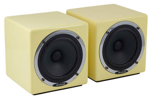 Mixcube Actives Reference Monitors - Cream (Pair)
