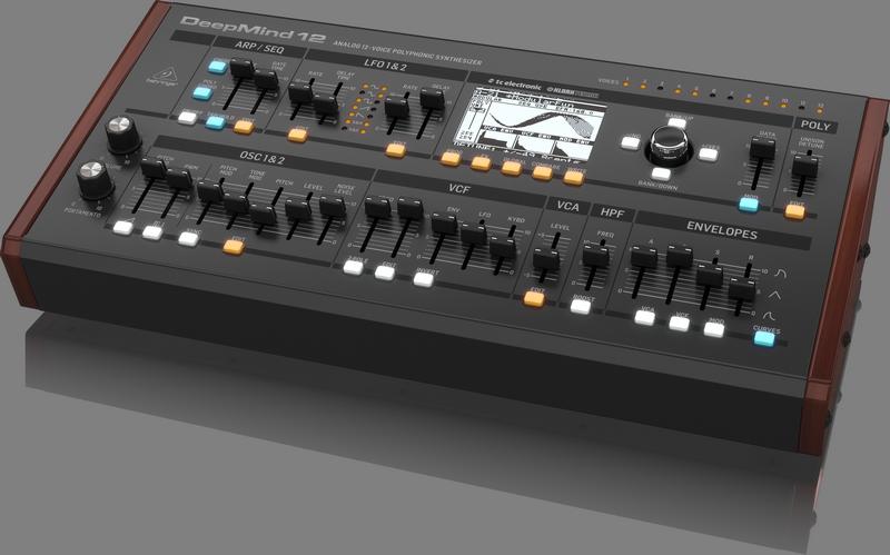 Deepmind 12D 12-Voice Polyphonic Desktop Synthesizer