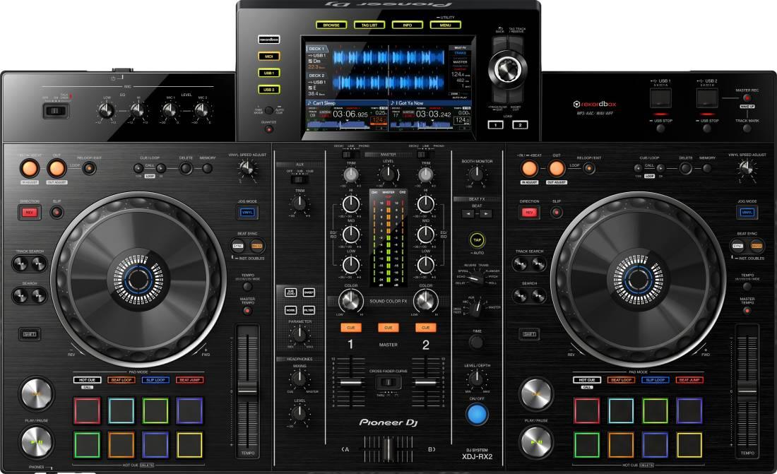 Pioneer - XDJ-RX2 All-in-one DJ System for Rekordbox
