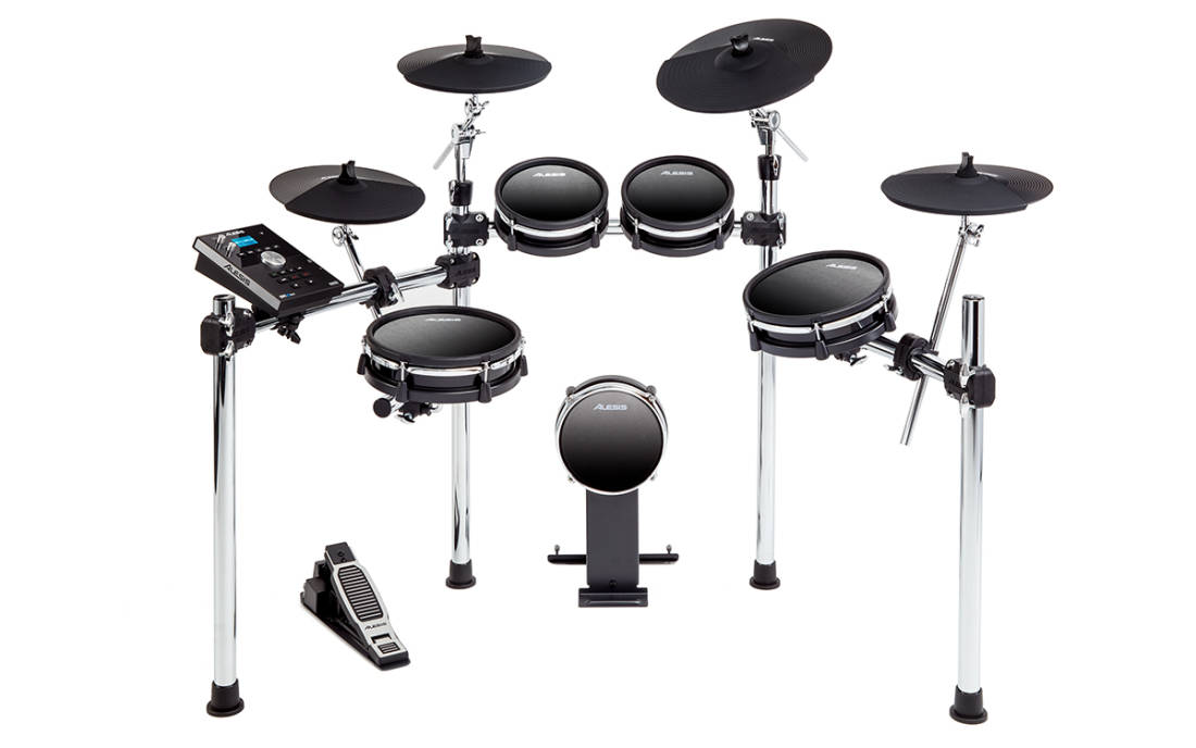 alesis dm10 mkii studio kit 9 piece electronic drum kit with mesh heads long mcquade. Black Bedroom Furniture Sets. Home Design Ideas