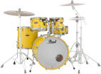 Pearl - Decade Maple 5-Piece Shell Pack (22,10,12,16,SD) - Solid Yellow