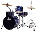 Pearl - Roadshow 4-Piece Drum Kit (18,10,14, Snare) - Deep Sea