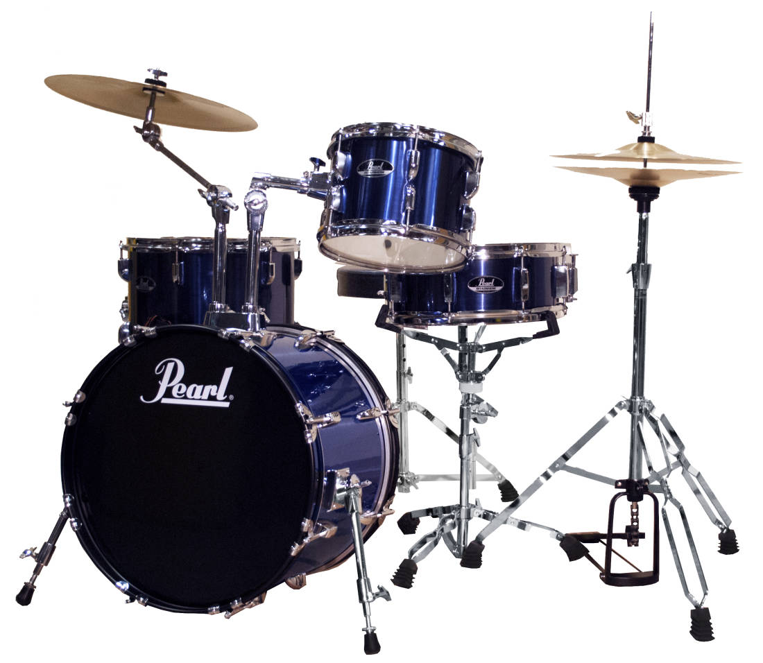 pearl roadshow 4 piece drum kit 18 10 14 snare deep sea long mcquade musical instruments. Black Bedroom Furniture Sets. Home Design Ideas