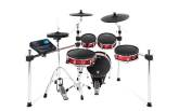 Alesis - Strike Kit 8-Piece Professional Electronic Drum Kit with Mesh Heads