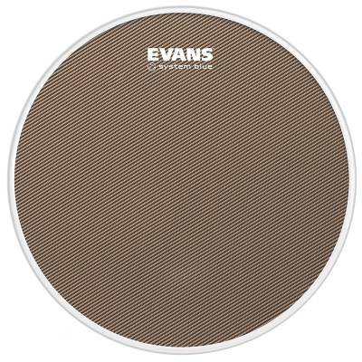 System Blue Marching Snare Drum Head - 13-Inch