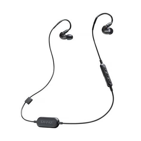 e8884a6582a Shure SE215 Wireless Sound Isolating Earphones - Black - Long ...