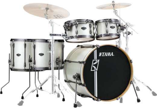 Superstar Hyper-Drive 5-Pc Shell Pack (22,10,12,14,16) in Maple - Satin Arctic Pearl