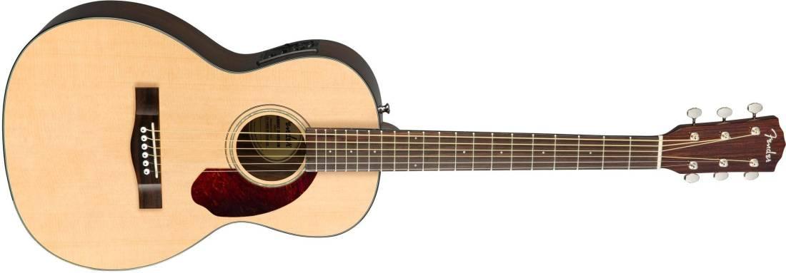 c67eccd1c7e Fender CP-140SE Parlour Acoustic-Electric Guitar With Case - Natural ...