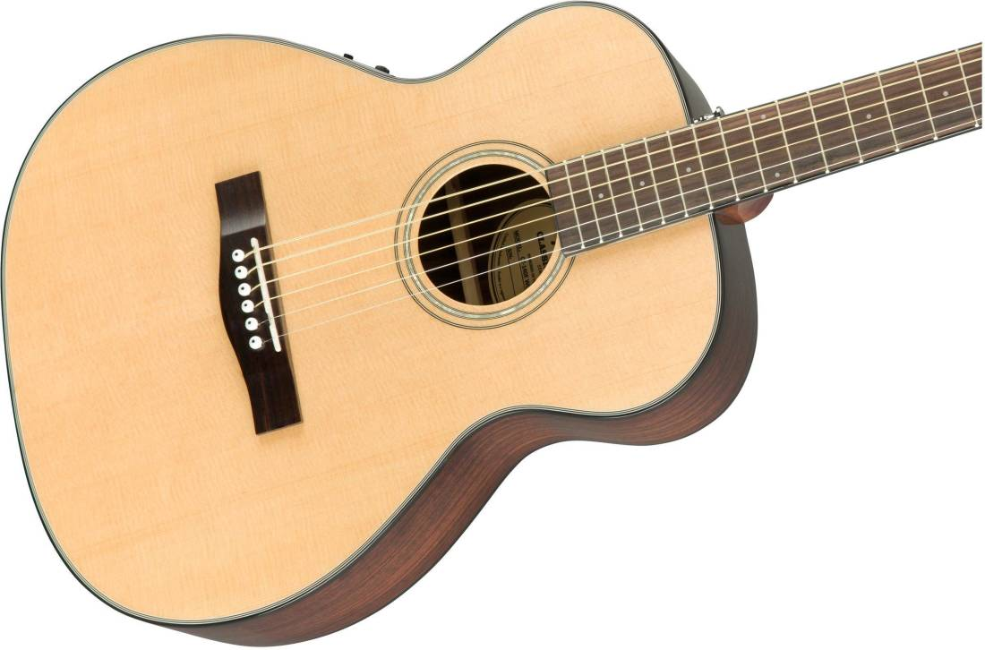 fender ct 140se travel guitar with case natural long mcquade musical instruments. Black Bedroom Furniture Sets. Home Design Ideas