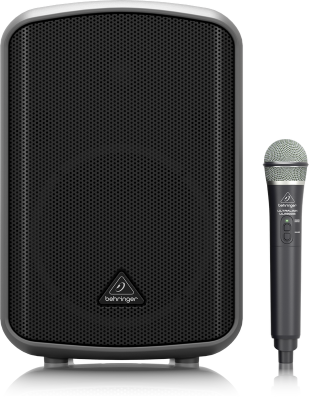 MPA200BT All-in-One Portable 200W Speaker w/ Wireless Mic & Bluetooth Connectivity