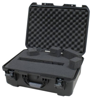 Waterproof Molded Case with Diced Foam Interior