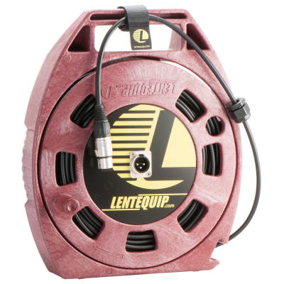 Single XLR Cable Reel, Small - 19m