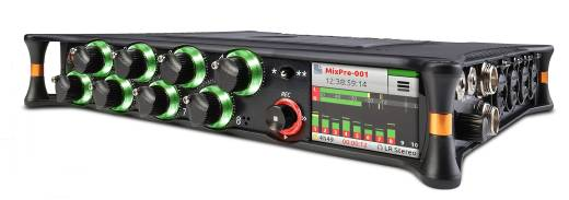 MixPre-10T Compact 10-input/12-track Recorder/USB Audio Interface