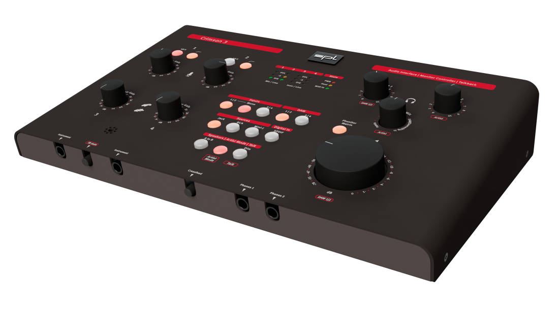 spl crimson 3 high performance usb interface with analog monitoring long mcquade musical. Black Bedroom Furniture Sets. Home Design Ideas