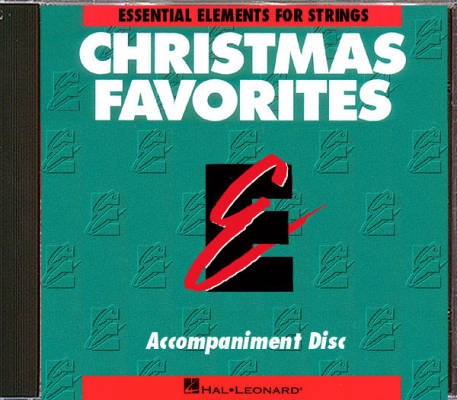 Essential Elements Christmas Favorites for Strings - Conley - Accompaniment CD
